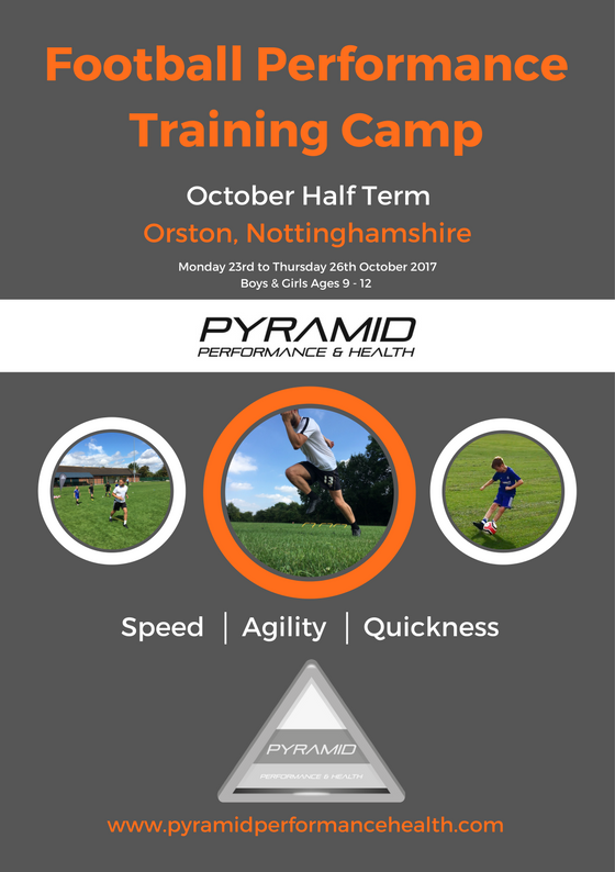 Front Pyramid Football Performance Camp - Oct 17